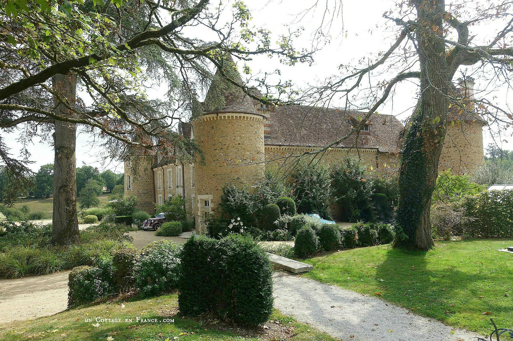 Déjeuner d'été au Domaine des etangs, Charente 8