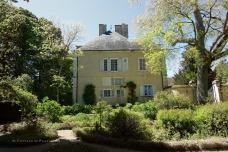 Maison de George Sand côté jardin (George Sand house from the garden)