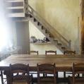 La table de cuisine de Nohant, Maison de George Sand en Berry